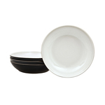 Denby Pasta Bowls Set, Black Pepper