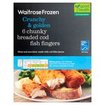 Waitrose Breaded Cod Fingers