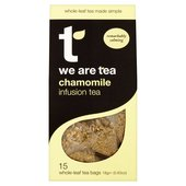 We Are Tea Whole Chamomile Flowers Teabags