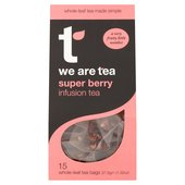 We Are Tea Superberry Teabags