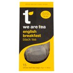 We Are Tea English Breakfast Teabag