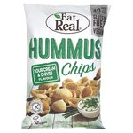 Eat Real Hummus Sour Cream & Chives Flavour Chips