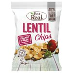 Eat Real Lentil Tomato & Basil Flavoured Chips