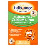 Haliborange Multivitamins + Calcium & Iron Chewable Softies