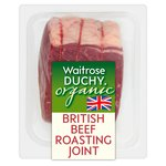 Waitrose Duchy Organic Beef Roasting Joint British