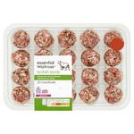 Essential Waitrose Lamb Meatballs