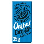 Ombar 60% Coconut Raw Chocolate Bar