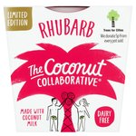 The Coconut Collaborative Dairy Free Rhubarb Coconut Yogurt
