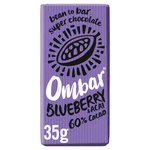Ombar Acai & Blueberry Raw Chocolate Bar