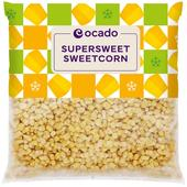 Ocado Frozen Supersweet Sweetcorn