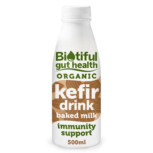 kefir milk. bio-tiful organic baked milk kefir riazhenka f
