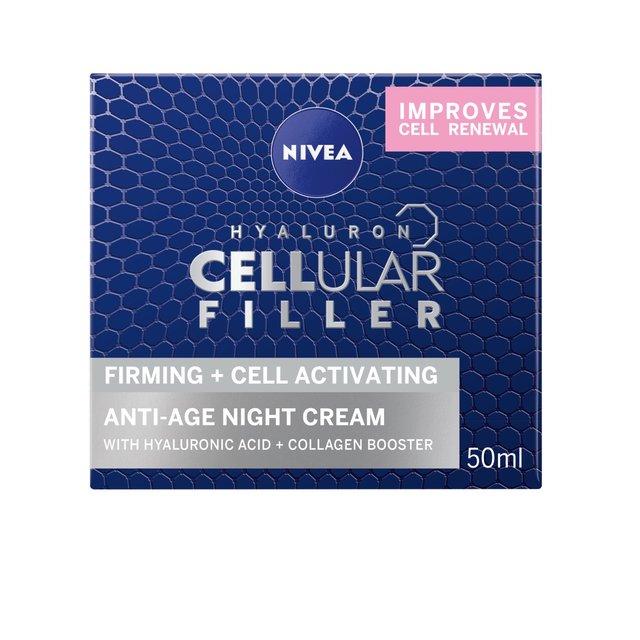 nivea cellular anti age night cream