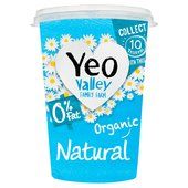 Yeo Valley Organic 0% Fat Natural