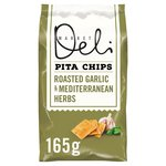 Walkers Market Deli Garlic & Herbs Pita Chips
