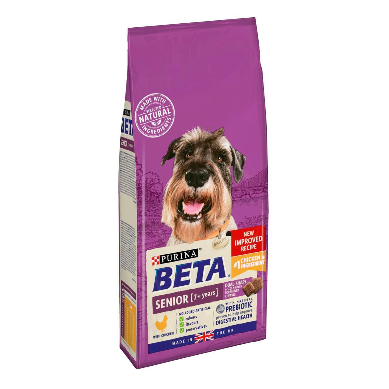 Beta Senior Chicken Dry Dog Fo At Fetch Co Uk The Online Pet Store