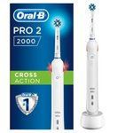 Oral-B Pro 2 (2000) CrossAction Electric Rechargeable Toothbrush