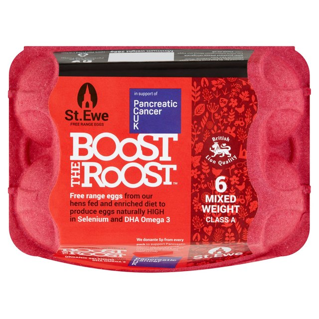 St. Ewe Boost The Roost Selenium Enriched Free Range Eggs