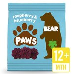 BEAR Pure Fruit Paws Raspberry & Blueberry