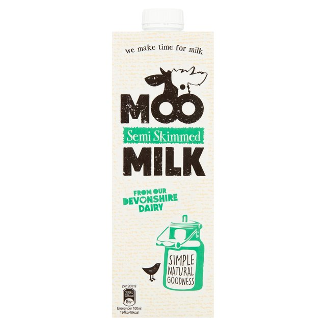 Moo Semi Skimmed Long Life Milk Ocado