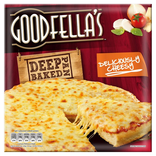 Goodfella's Deeply Delicious Loaded Cheese Pizza