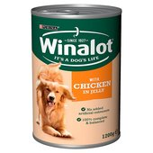 Winalot Dog Food Chicken in Jelly