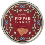 Nyakers Ginger Snap Hearts in Red Tin