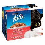 Felix Meaty Loaf Fish & Meat Mixed Selection Pouches