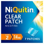 NiQuitin CQ 14mg Clear Patch, Step 2