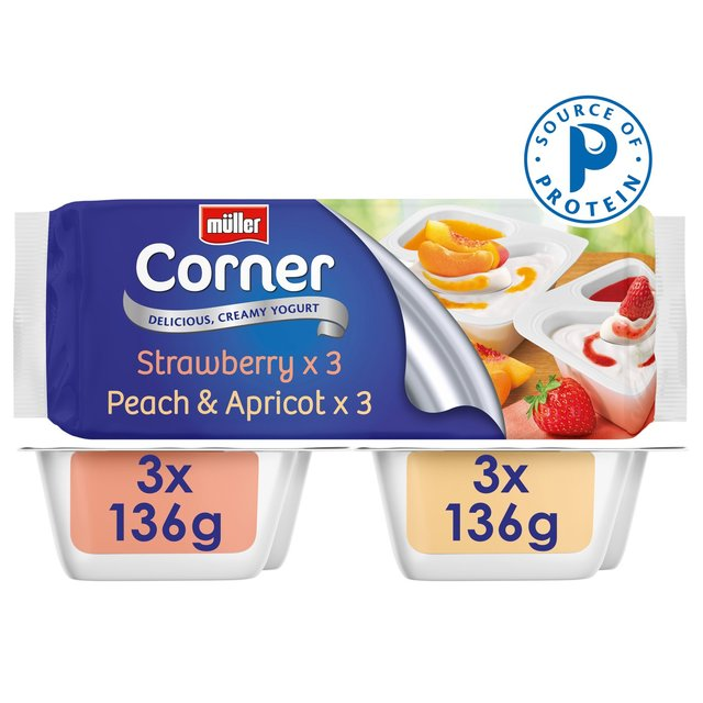 Muller Corner Fruit Variety Pack Yogurts