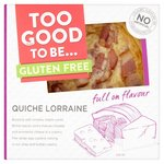 Too Good To Be Quiche Lorraine