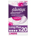 Always Discreet Incontinence Liners Plus
