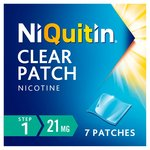 NiQuitin CQ 21mg Clear Patch, Step 1