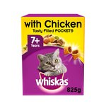 Whiskas 7+ Senior Cat Complete Dry with Chicken
