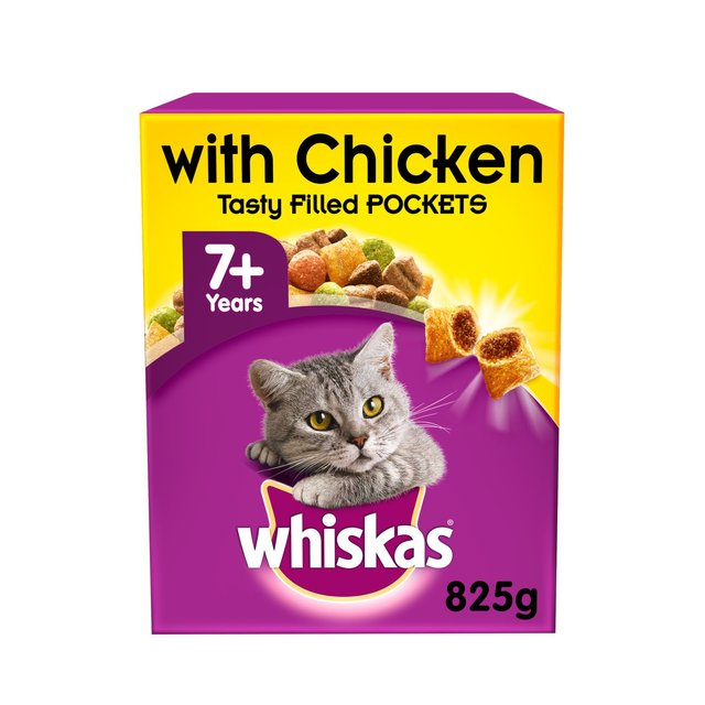 Whiskas Senior Dry Cat Food