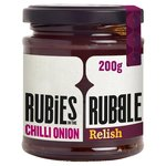 Rubies in the Rubble Pink Onion & Chilli Relish