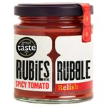 Rubies in the Rubble Spicy Tomato Relish