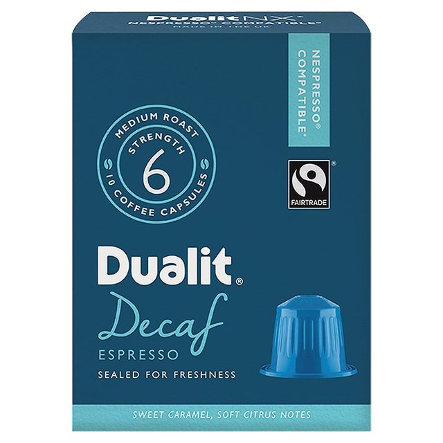 Dualit Decaf Nespresso Compatible Coffee Capsules 10 per  # Nespresso Decaf