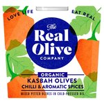 Real Olive Co. Organic Mixed Pitted Olives with Moroccan Flavours