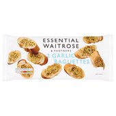 Garlic Baguette - 2 per pack essential Waitrose