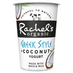 Rachel's Organic Greek Style Coconut Yogurt
