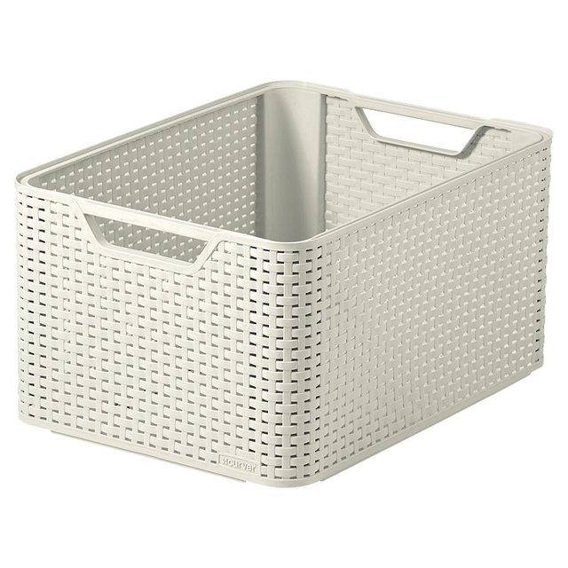 Basket WhiteOcado LargeVintage LargeVintage WhiteOcado Basket Curver Basket Curver Curver u1TJ35KlFc
