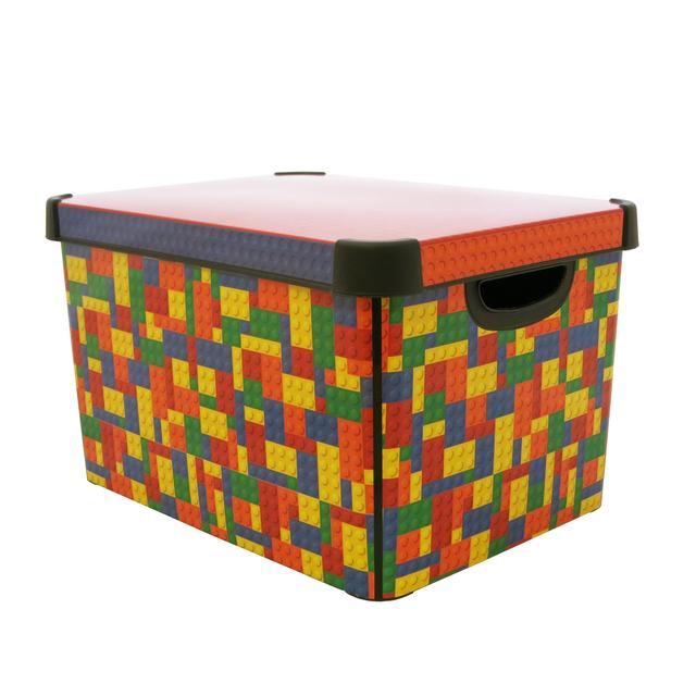 Curver Deco Blocks Box