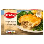 Birds Eye 4 Creamy Chicken Pies Frozen