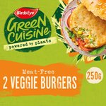 Birds Eye 2 Vegetable Burgers Frozen