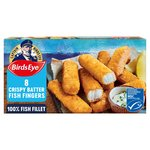 Birds Eye 8 Oven Crispy Fish Fingers Frozen