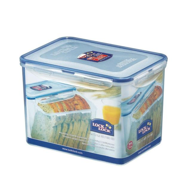Lock & Lock Air Tight Rectangular Plastic Container 3.9L