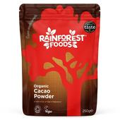 Rainforest Foods Organic Peruvian Cacao Powder