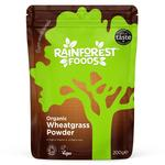 Rainforest Foods Organic New Zealand Wheatgrass Powder