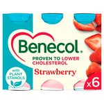 Benecol Cholesterol Lowering Yogurt Drink Strawberry