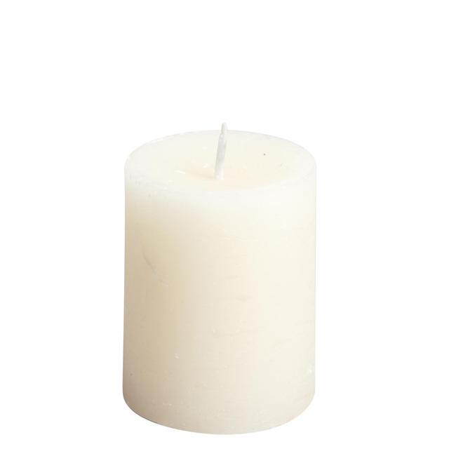 Spaas Rustic Pillar Candle Ivory
